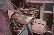 1986 Bolivien, Halbkettenkfz 04, Getriebe.jpg
