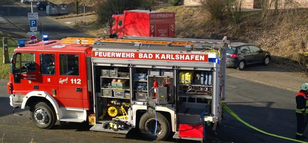 Hilfeleistungslöschfahrzeug 20/16 der Feuerwehr Bad Karlshafen