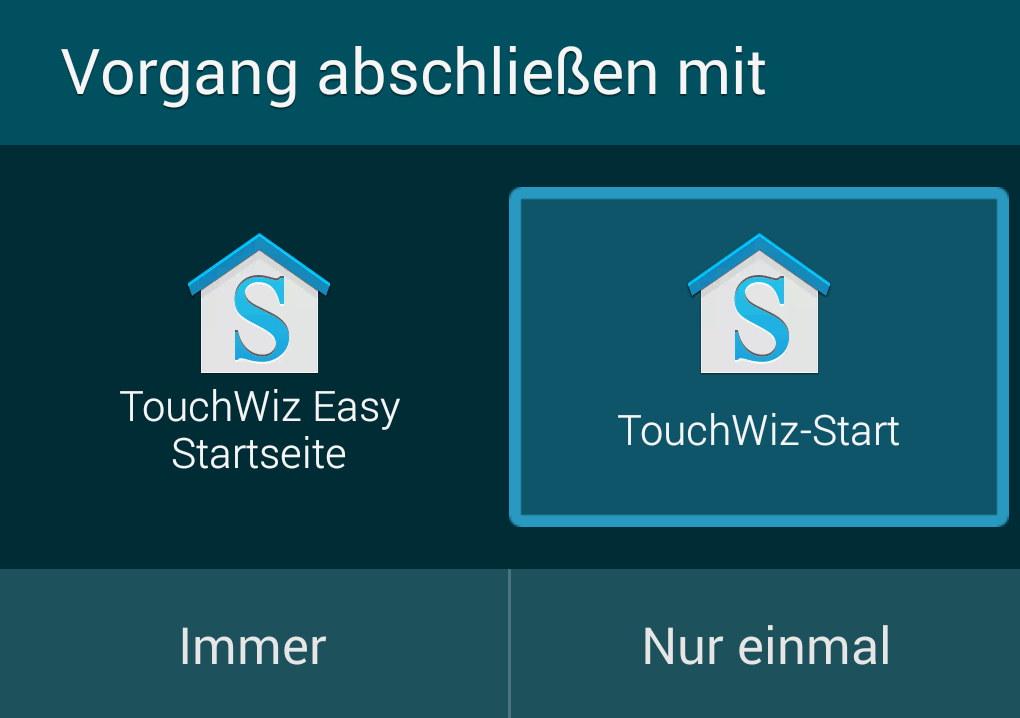 Touchwiz Aktivieren