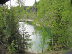 Am blauen See im Harz.JPG