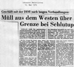 Zeitungsartikel MÃœLL AUS DEM WESTEN ÃœBER GRENZE BEI SCHLUTUP.jpg