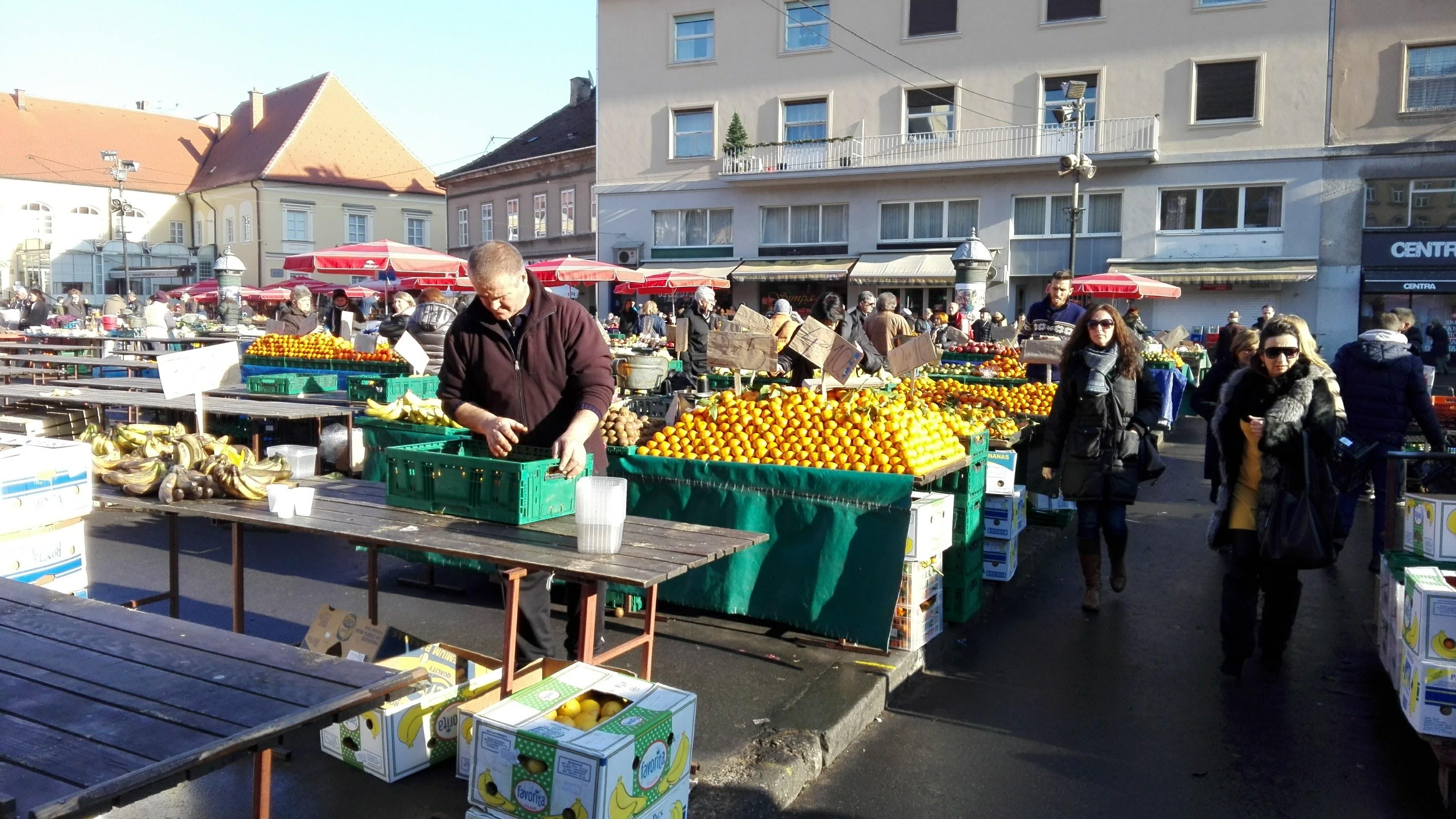 Märkte Im Bauch Von Zagreb