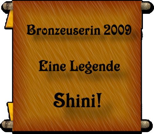 Platz 3 Shini
