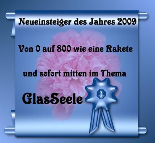 Einsteiger des Jahres GlasSeele
