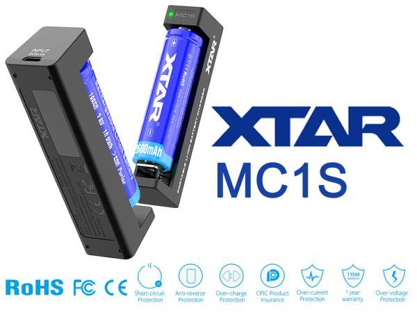 XTAR MC1S Lithium Ionen Ladegerät Reiseladegerät Charger_1.jpg