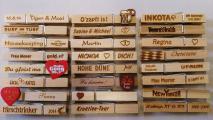 Personalisierte Wäscheklammern aus Holz, Glupperl, Glubbal