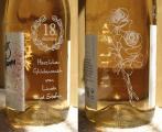 Sektflasche mit Wunschgravur