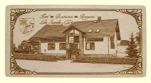 Hotel Sutschketal Bestensee - Fotogravur auf Holz