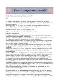 Gratwanderung das COPD Infoportal für Angehörige