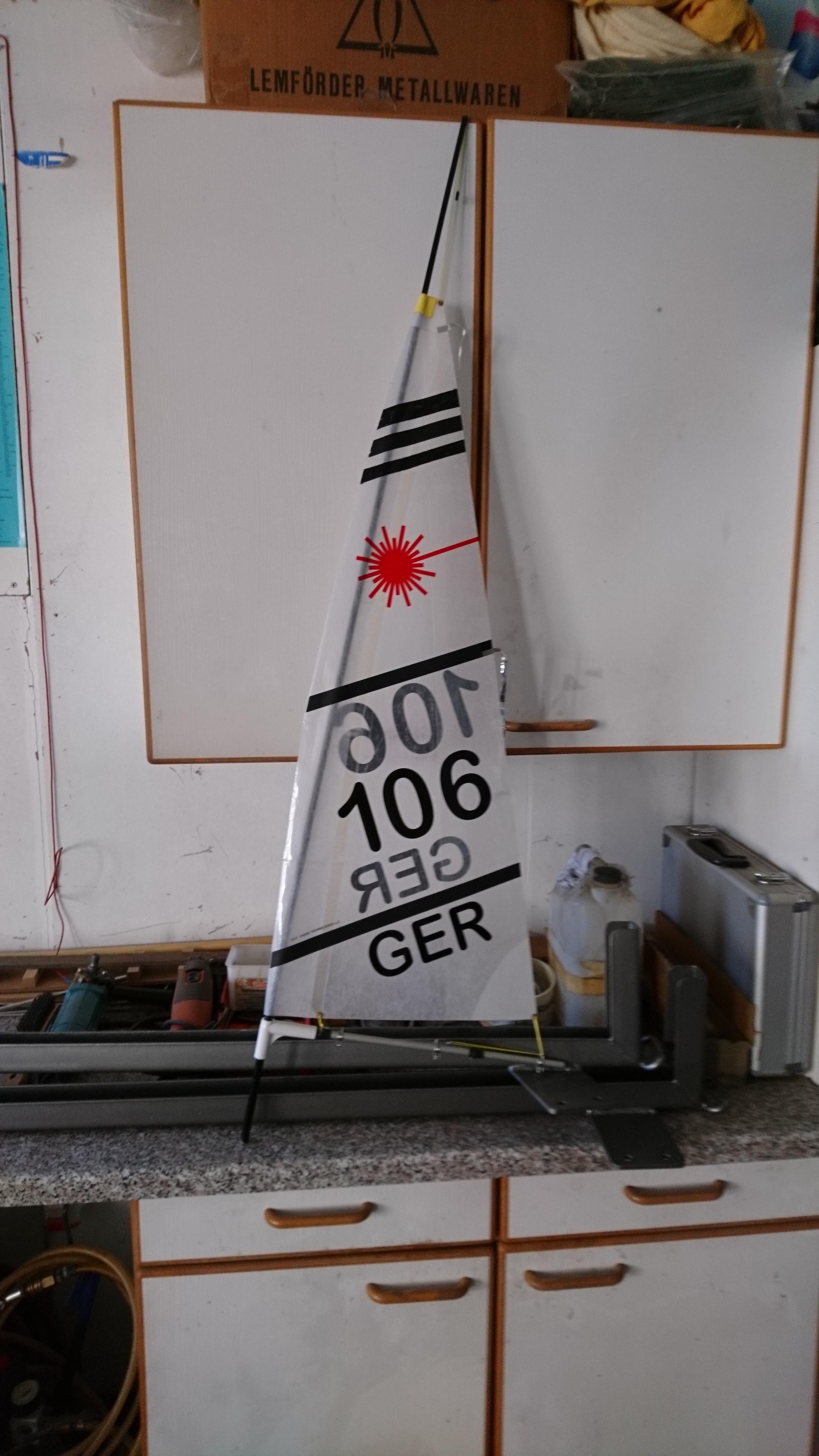 Mast Baum Segel Amp Segelnummern 187 Beschriftung D Segel