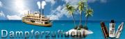 """Kleines Banner """"Dampferzuflucht"""""""