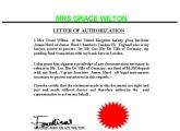 AUTHORIZATION FROM MRS.GRACE WILTON.JPG